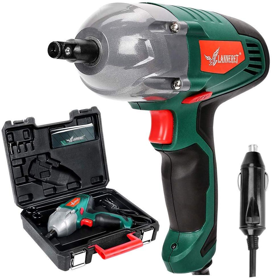 LANNERET Corded Electric Impact Wrench