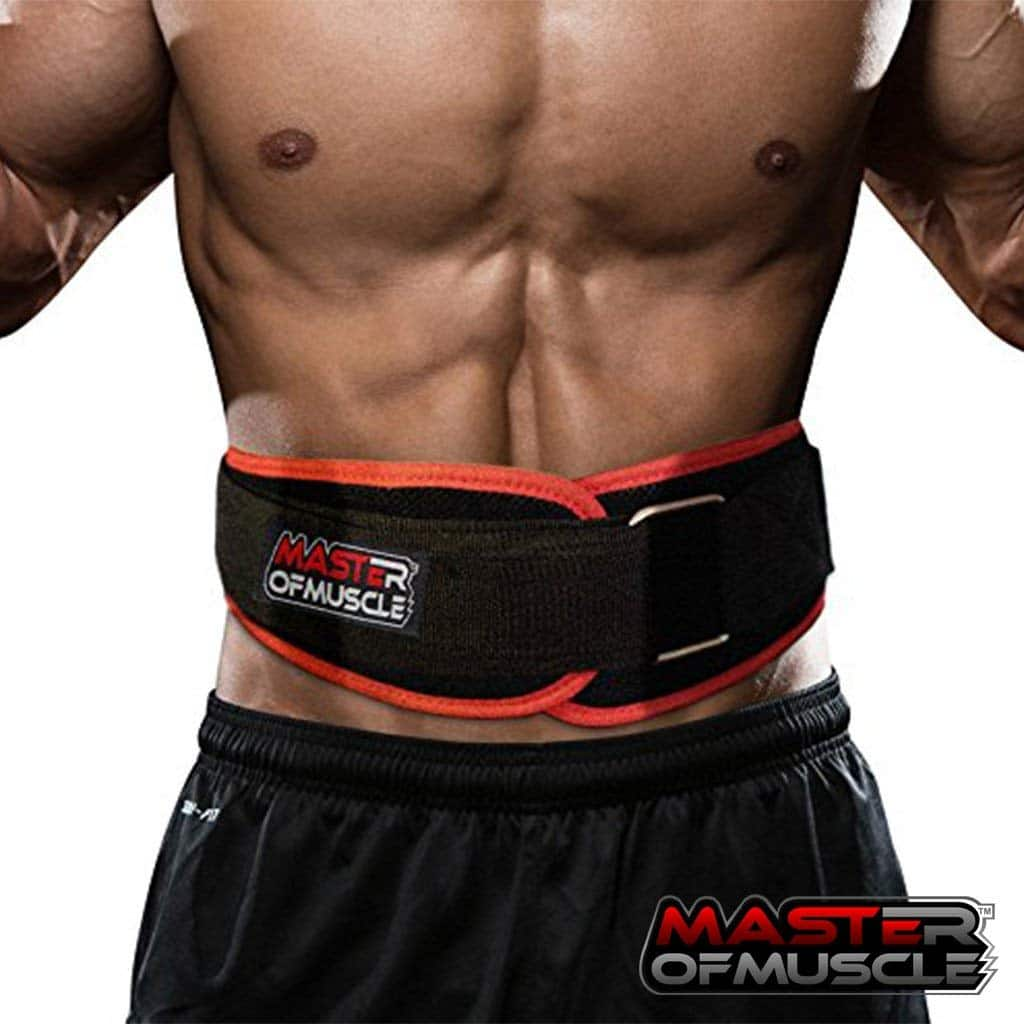 Master of Muscle Neoprene Contoured Weightlifting belt