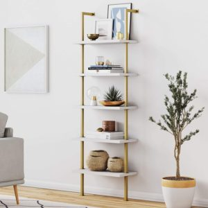 Nathan James Bookshelves for Home with Open Design