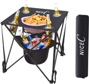 NiceC Folding Table with Cooler