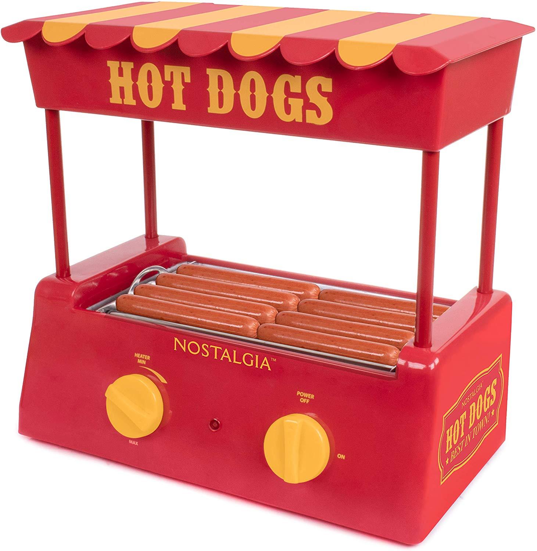 Nostalgia HDR8RY Hot Dog Warmer