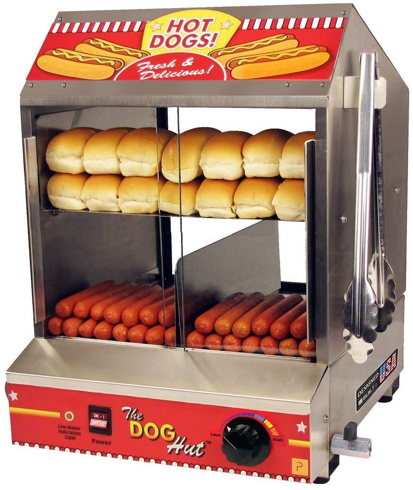 Paragon 8020 Hot Dog Hut Steamer