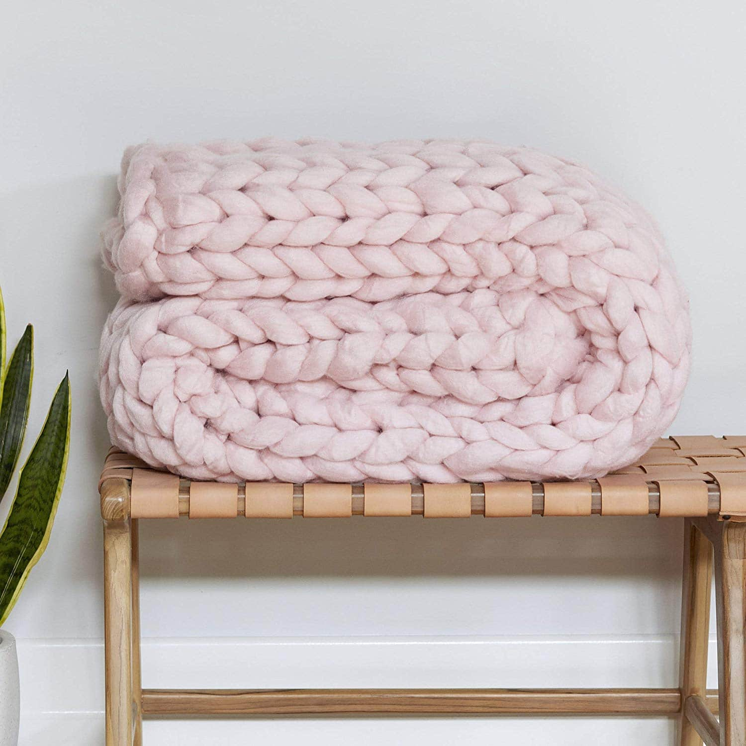 Premium Chunky Knit Blanket by Knit Ave