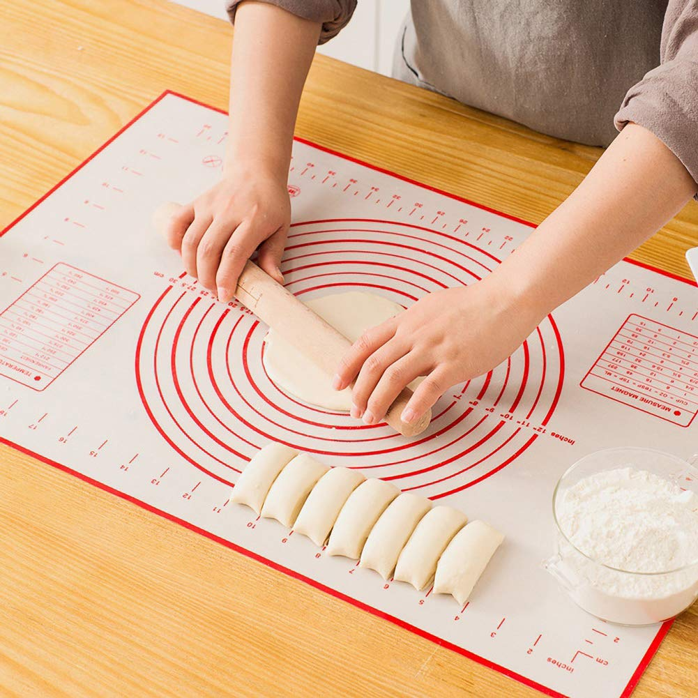 Silicone Pastry Mat Non-Stick Extra Thick Baking Mat