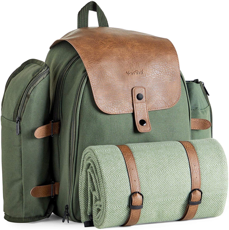 VonShef Large Picnic Backpack