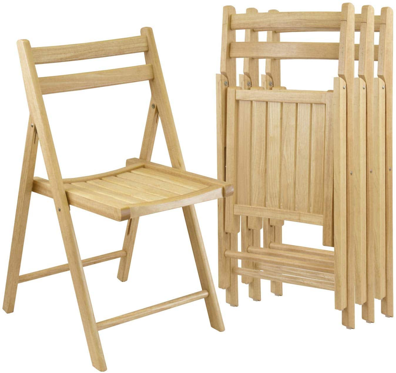 Winsome Robin 4-PC Folding Chair Set
