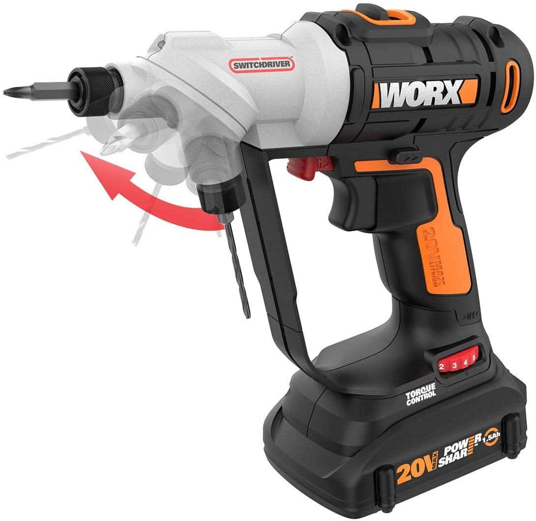 Worx WX176L cordless drill