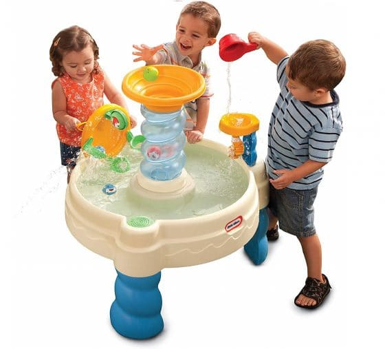 1.Little Tikes Spiralin' Seas Waterpark Play Table