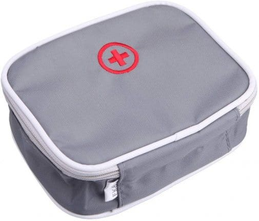 10.Whitelotous Portable Small Medical Bag Travel Organizer