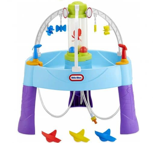 12.Little Tikes Fun Zone Battle Splash Water Play Table Game for Kids