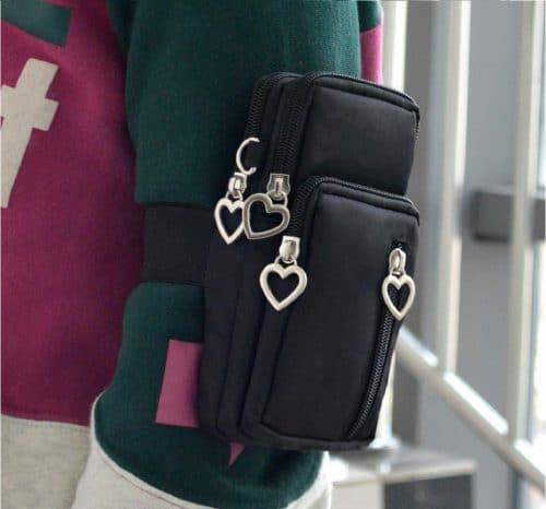 12.Phone Bag Purse Wallet Crossbody Bag Lightweight Roomy Pockets Smartphone Sports