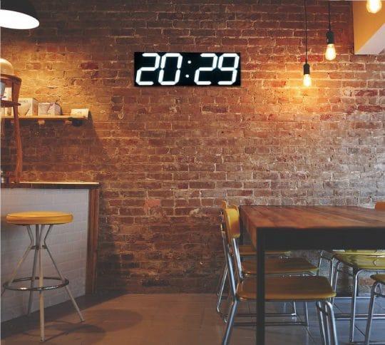 13.Jumbo Wall Clock LED Digital Multi Functional Remote Control Countdown Timer
