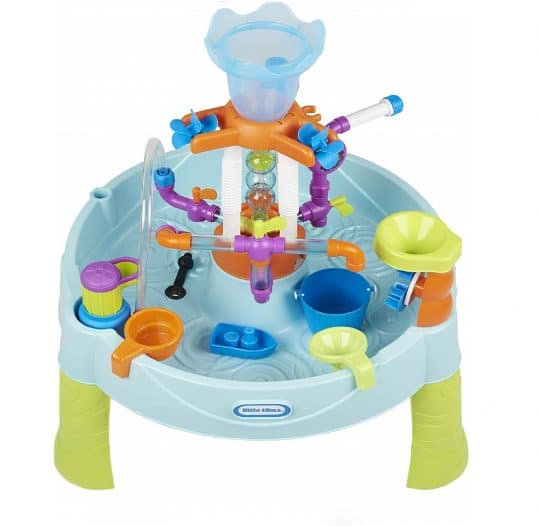 13.Little Tikes Flowin' Fun Water Table with 13 Interchangeable Pipes