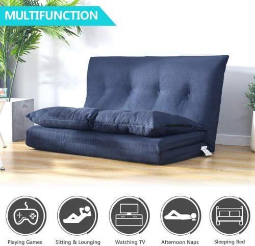 4.Adjustable Floor Couch and Sofa for Living Room and Bedroom