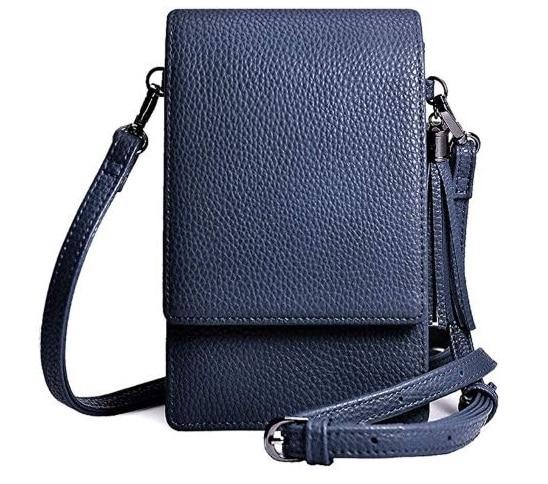 4.Small Crossbody Bag Cell Phone Purse Wallet Lightweight Roomy Travel Passport Bag Crossbody Handbags for Women