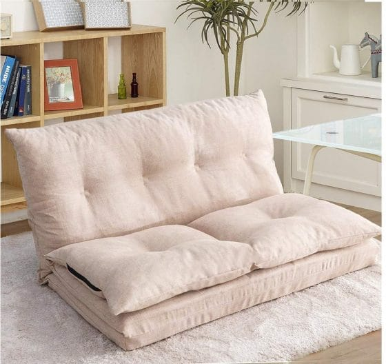 6.Floor Couch Foldable Floor Chair Folding Lazy Sofa for Living Room and Bedroom