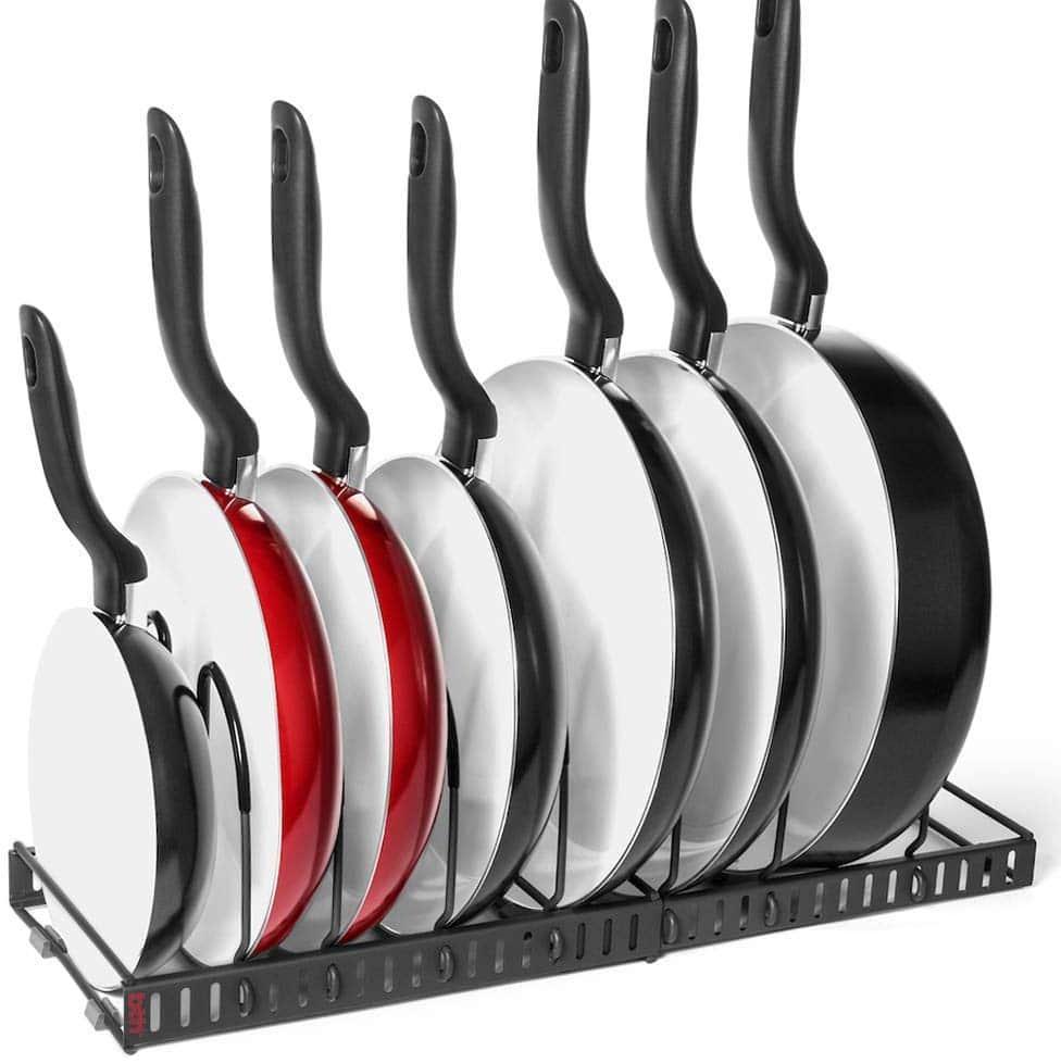 7+ Pans Expandable Organizer Rack