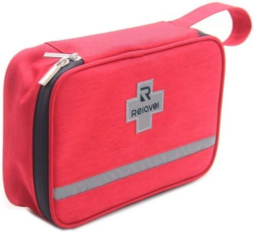 7.First Aid Kit Bag Reflective Emergency Empty Bag Emergency Equipment Kits Gift Choice for Family,