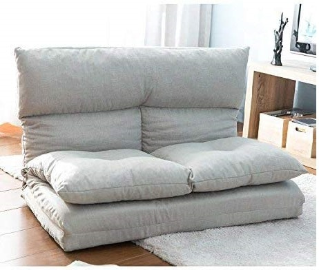 7.Foldable Floor Couch and Sofa, WeYoung Lazy Sofa Chair for Living Room and Bedroom