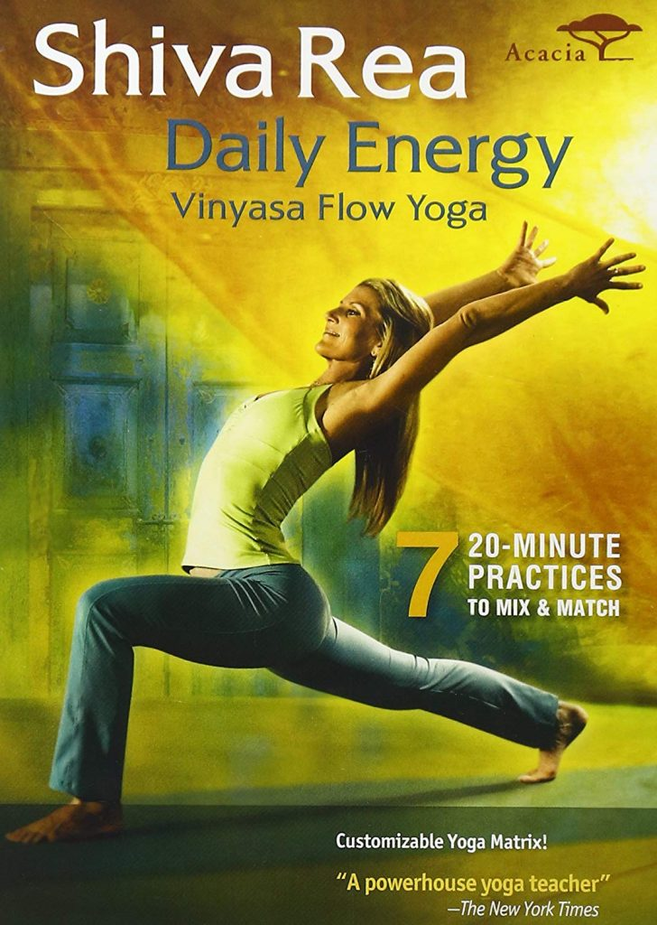 Daily Energy – Vinyasa Flow Yoga by Shiva Rea