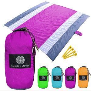 ECCOSOPHY Sand Proof Beach Blanket