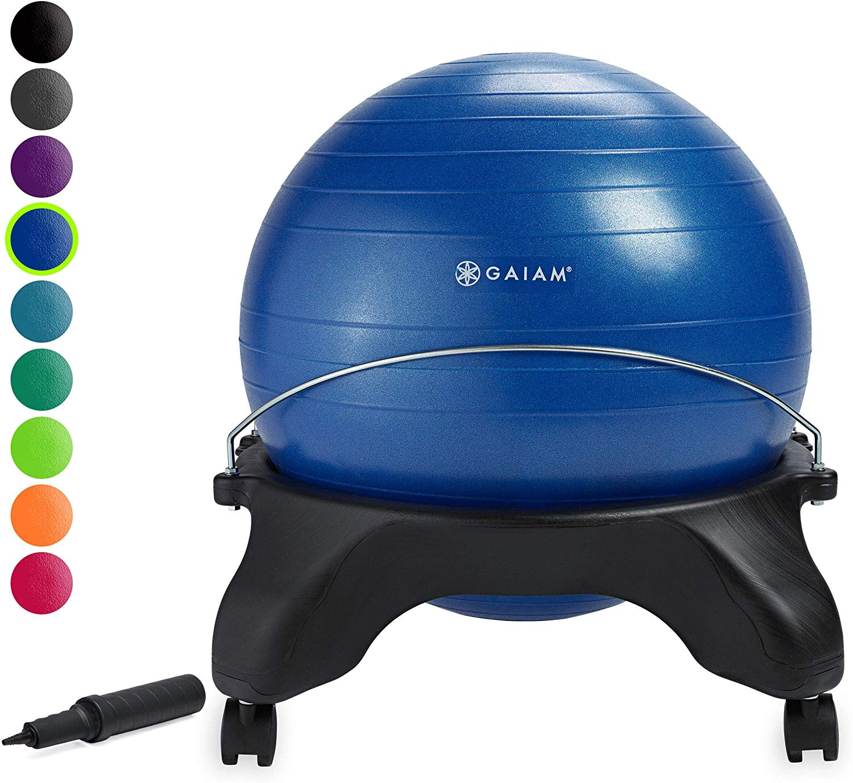 Gaiam Classic Backless Ball Chair