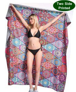 Genovega Mandala Beach Towel Blanket