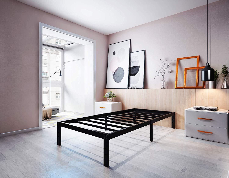 Homdock Metal Platform Bed Frame
