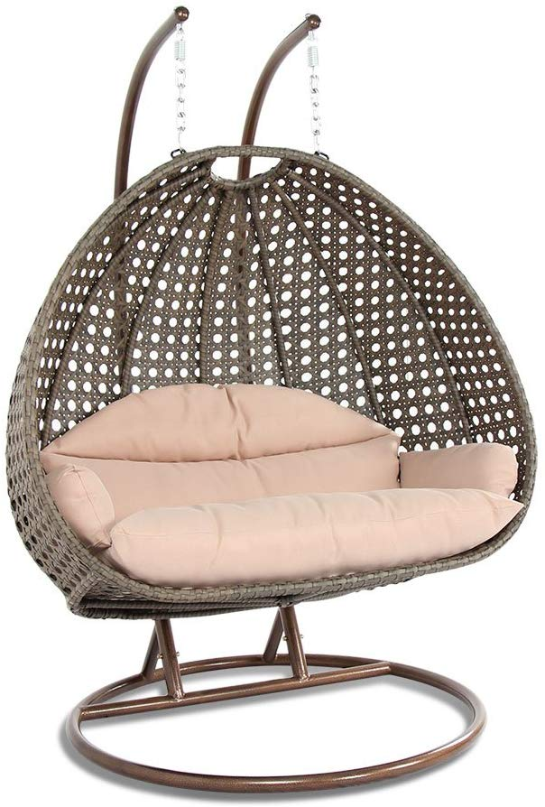 LeisureMod Wicker Hanging
