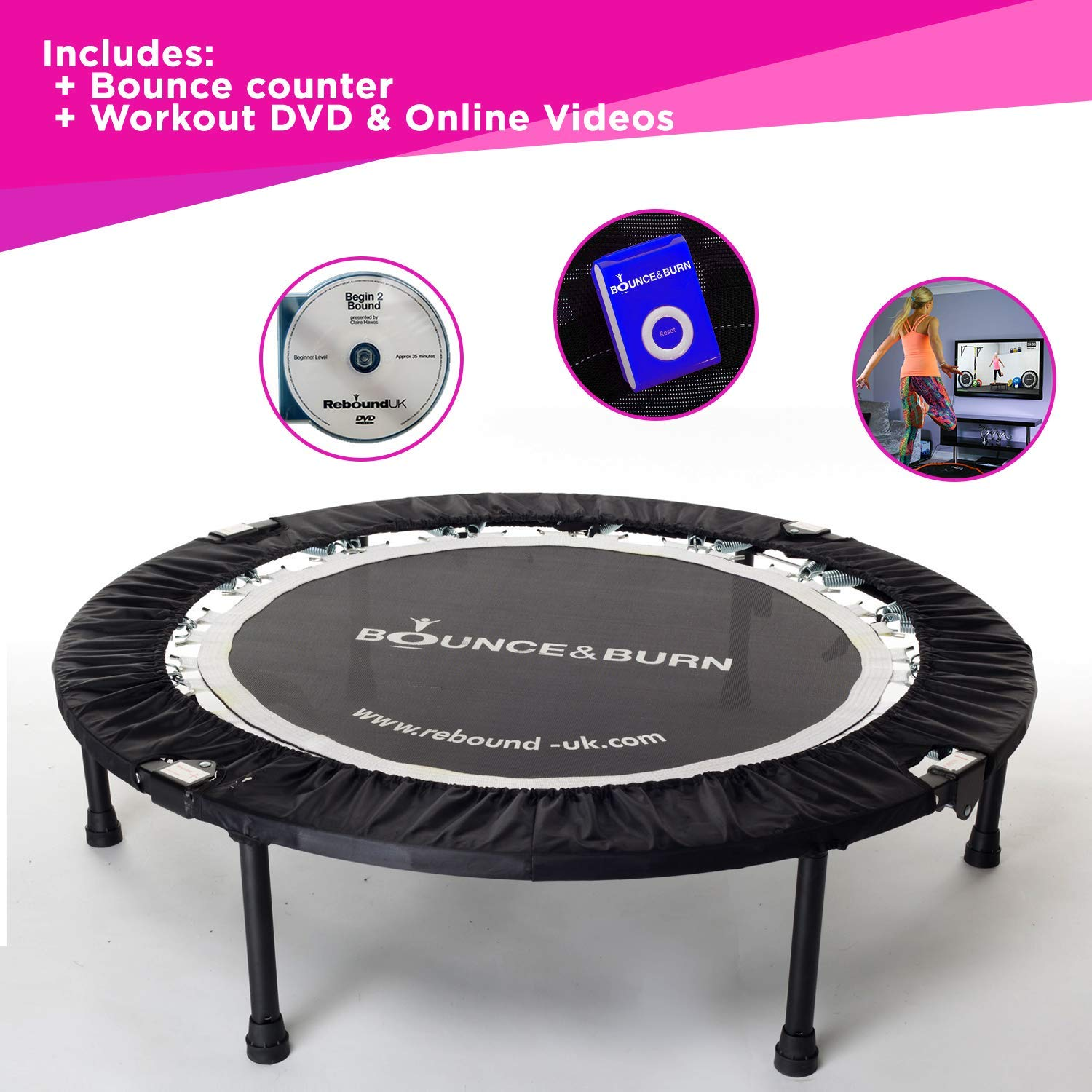 Maximus Life Bounce Mini Trampoline