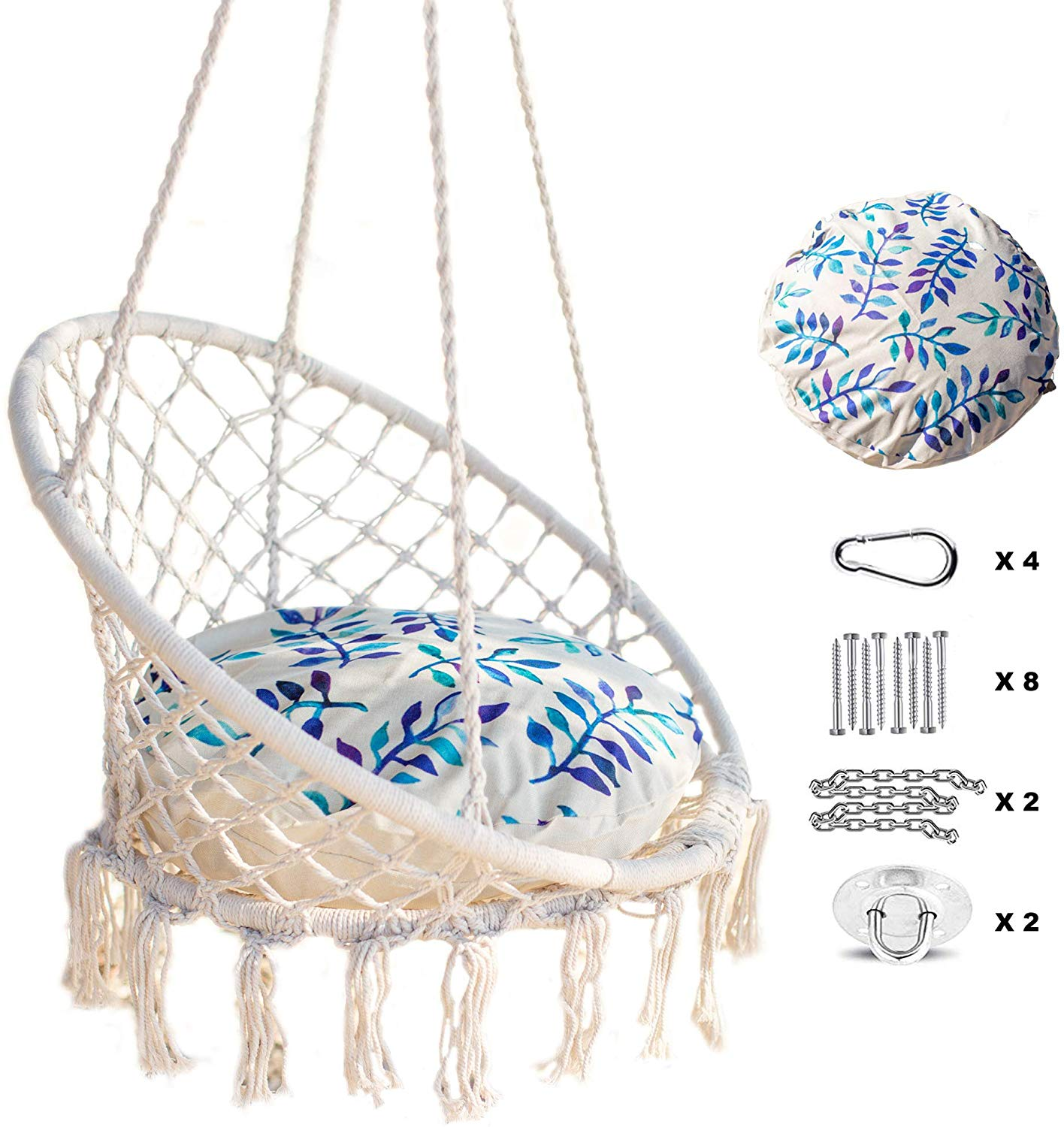 Nooksta Macrame Hanging Chair