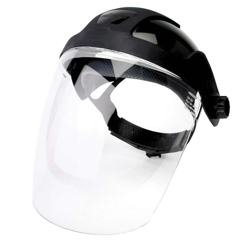 Sellstrom Anti-Fog Shield.