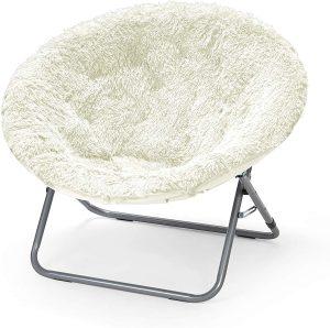 Urban Shop Mongolian Saucer Chair