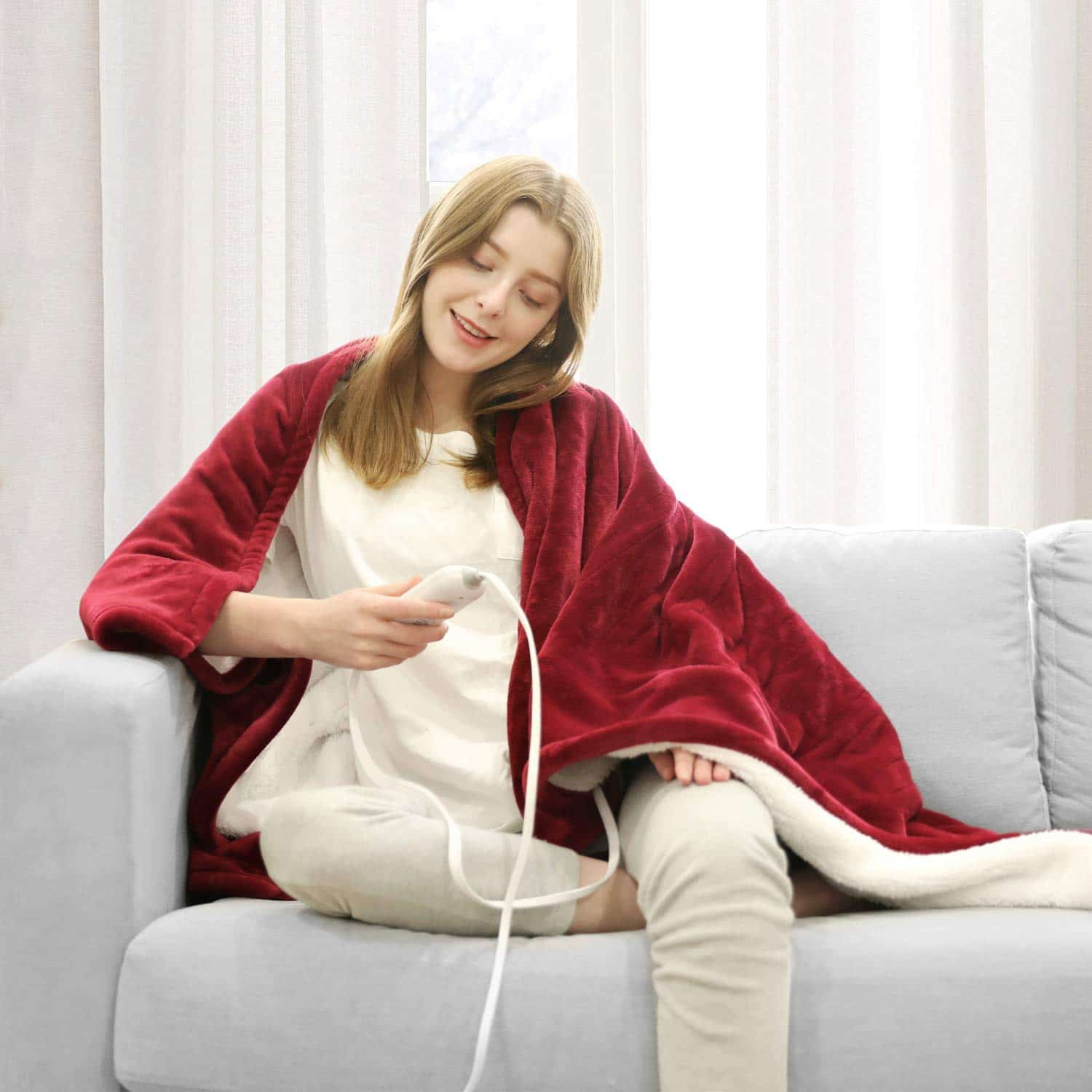 WAPANEUS Electric Blanket