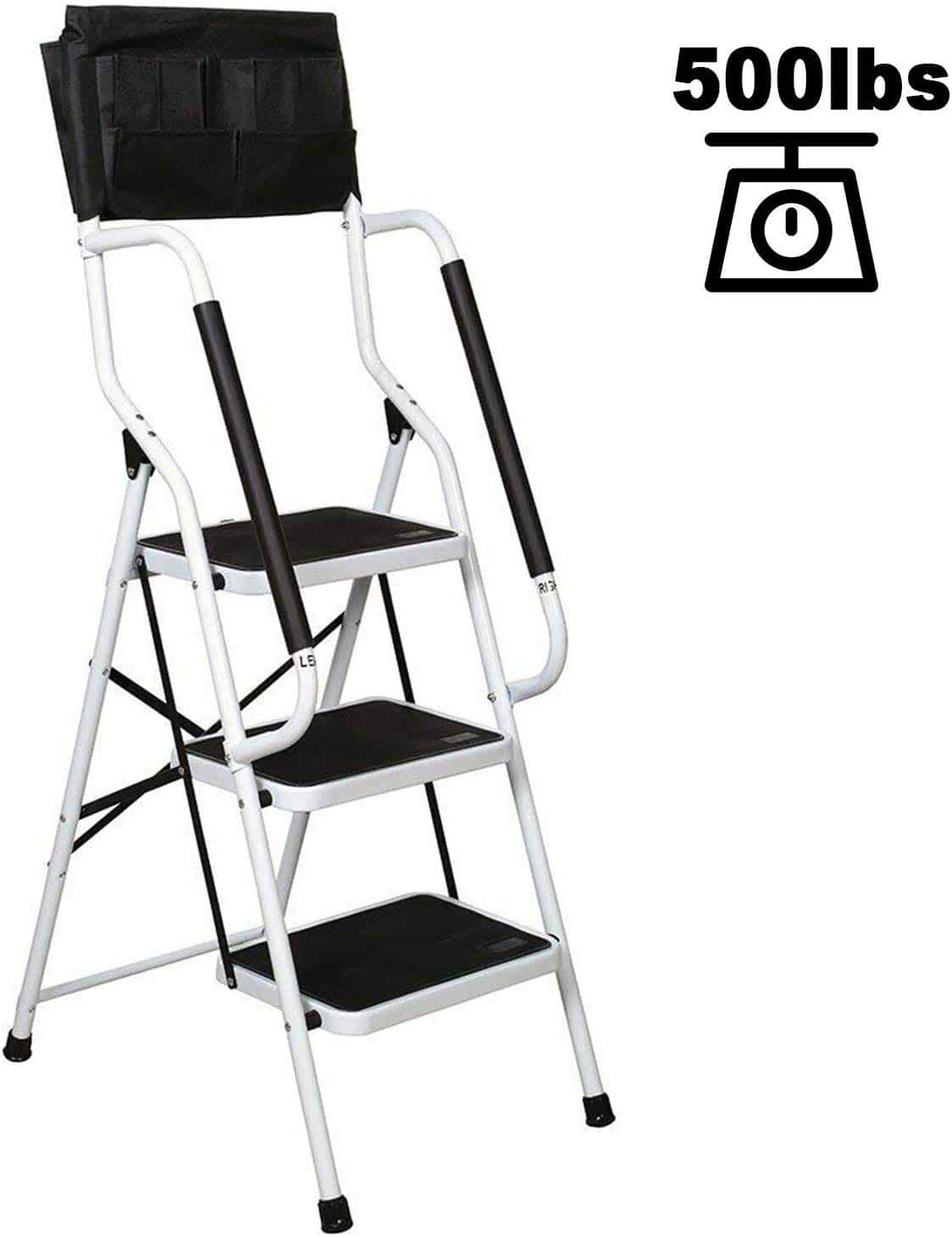 charaHOME 3-Step Ladder