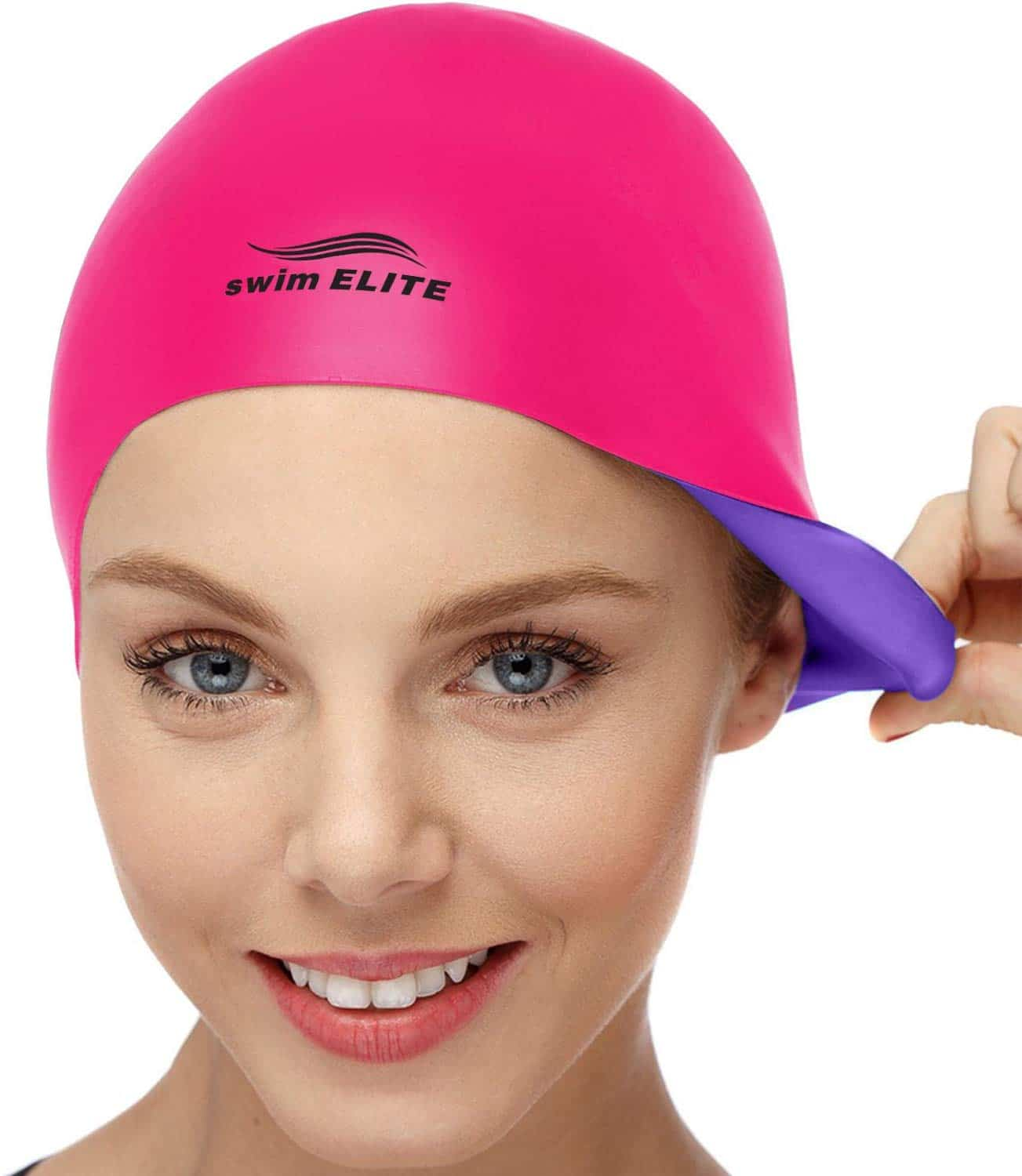 2-in-1 Swim Cap