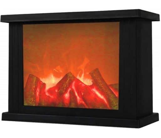 5.Fireplace Lanterns,Decorative Lanterns,Flameless Led Lantern, Battery Operated and USB Operated
