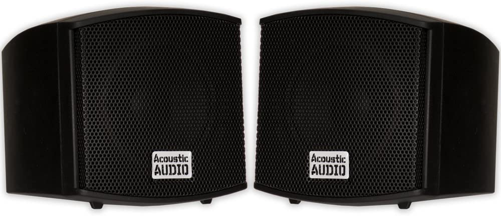 Acoustic Audio AA321B Mountable Indoor Speakers