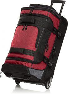 AmazonBasics Rip stop Rolling Wheeled Duffel Bag