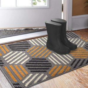 Color&Geometry Indoor Outdoor 32x40 Waterproof Doormat