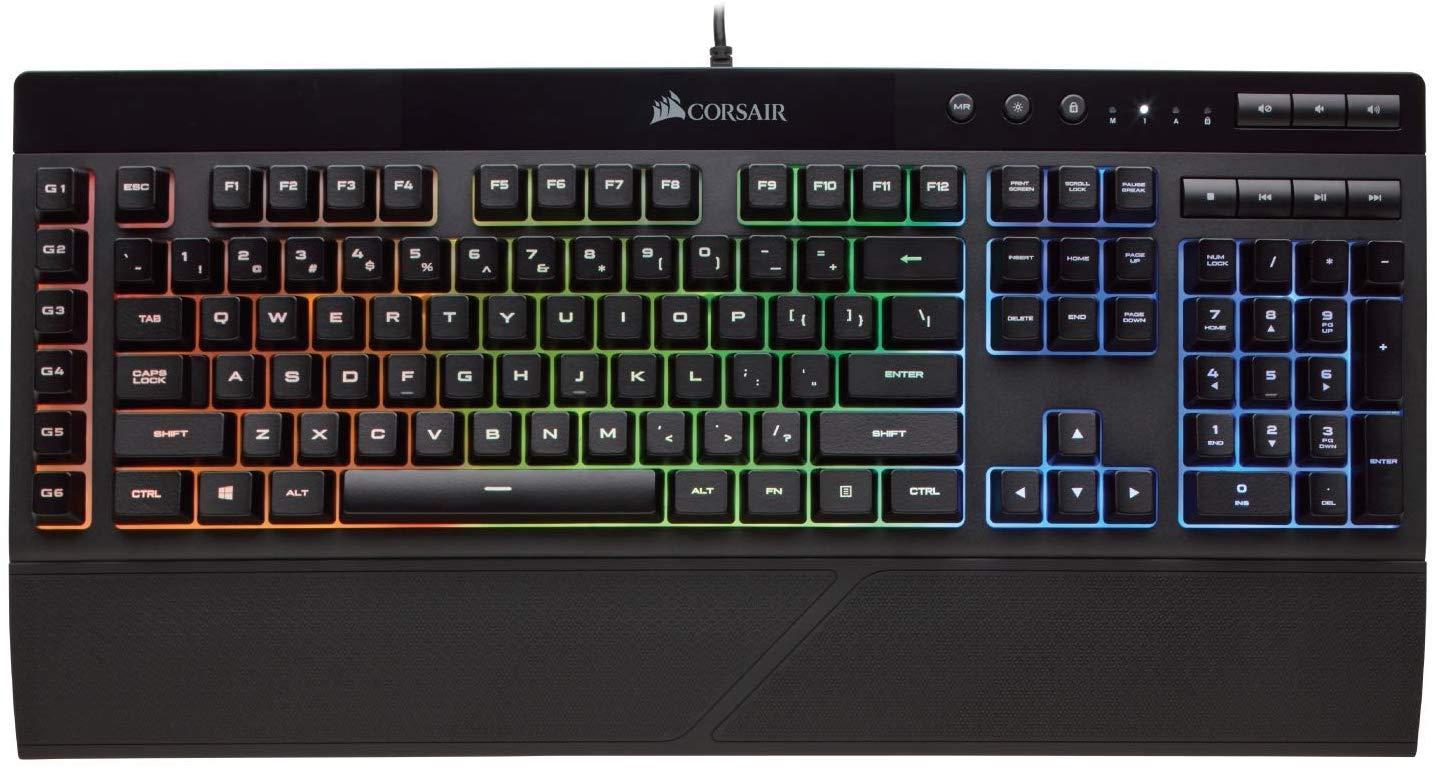 Corsair Gaming Keyboard LED Backlit Keys