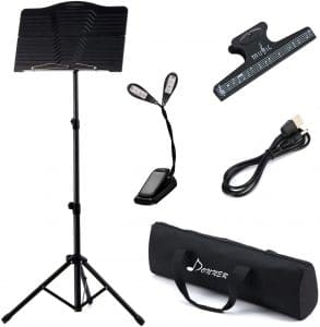Donner Sheet Folding Metal Music Stand