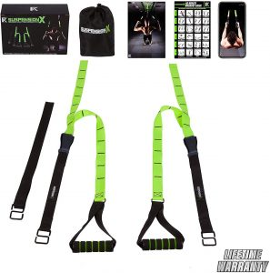 Fitness Kings Suspension X Body weight Resistance Suspension Straps