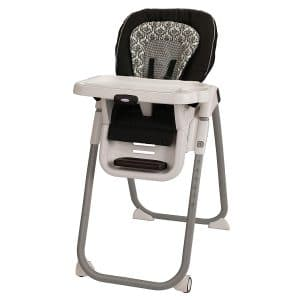 Graco TableFit High Chair, Rittenhouse Black and White