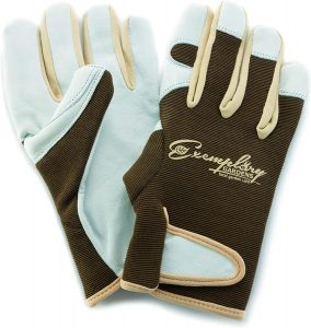 Leather Gardening Gloves by Exemplary Gardens