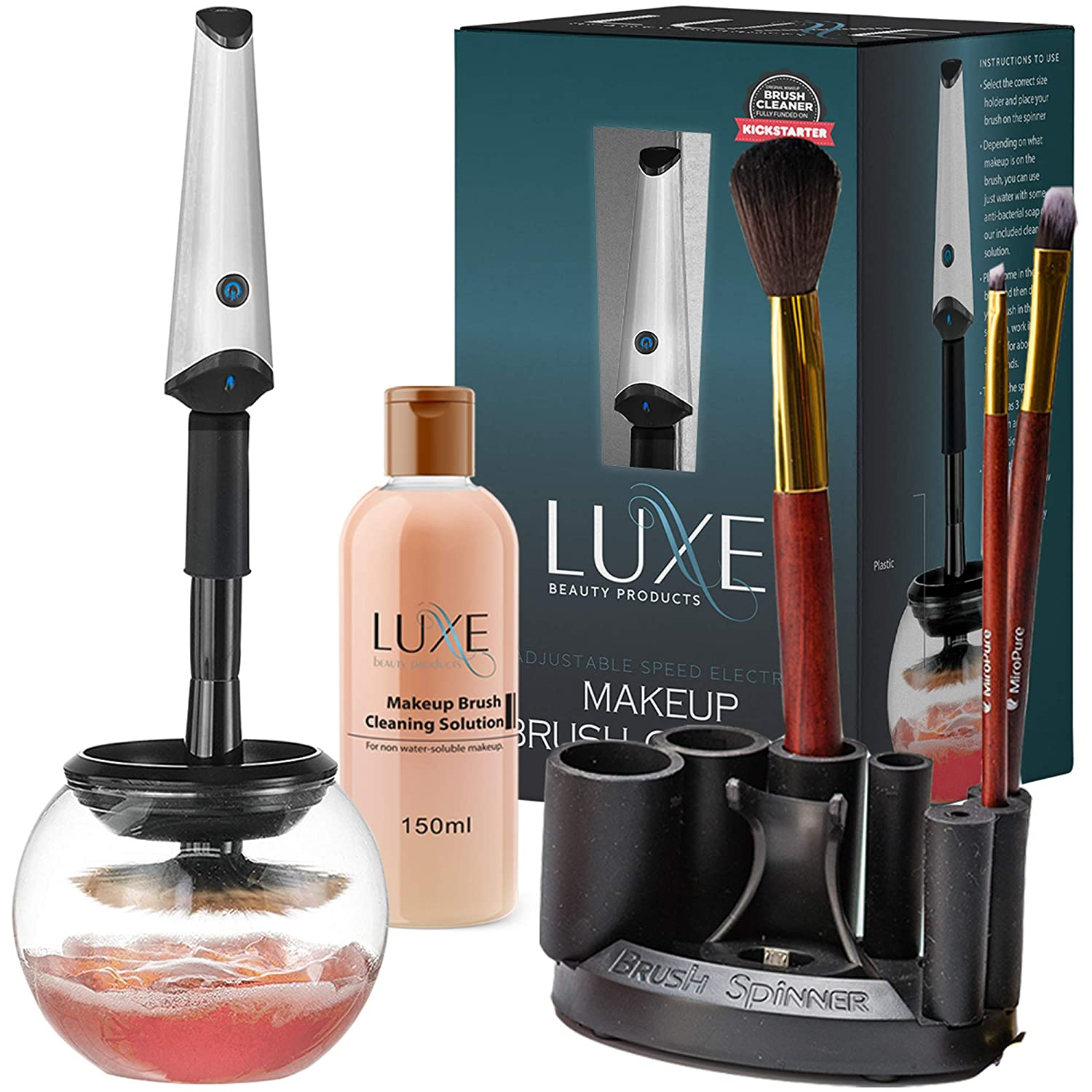 Luxe Brush Cleaner