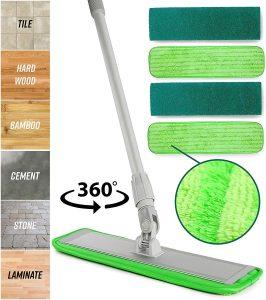 Microfiber Mop Floor System