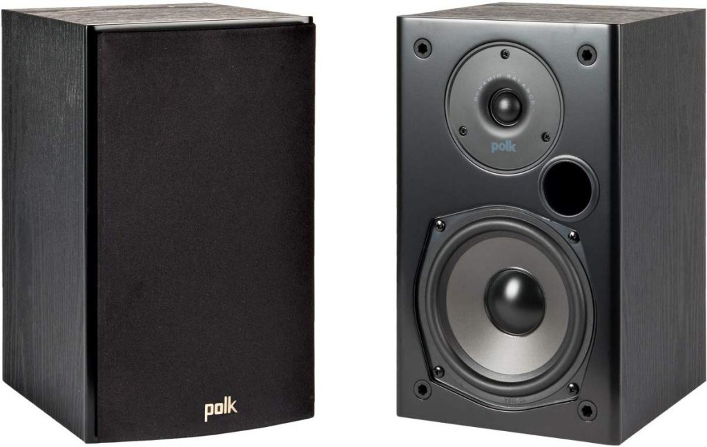 Polk Audio T15 Home Theater Bookshelf Speakers