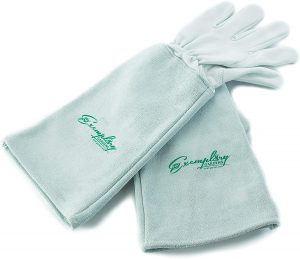Rose Pruning Gloves by Exemplary Gardens