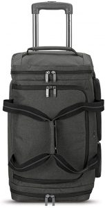 Solo New York Downtown Travel Rolling 22 inch Duffle Bag